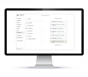 PDFMAILER Workflow starten